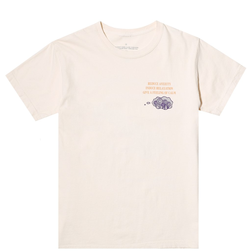 REDUCE PHYCHIC TENSION SS TEE IVORY