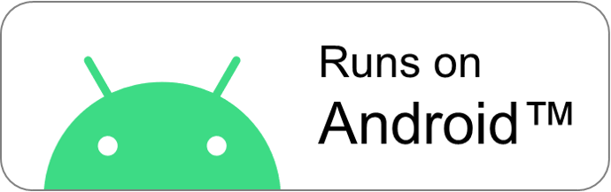 Runs on Android