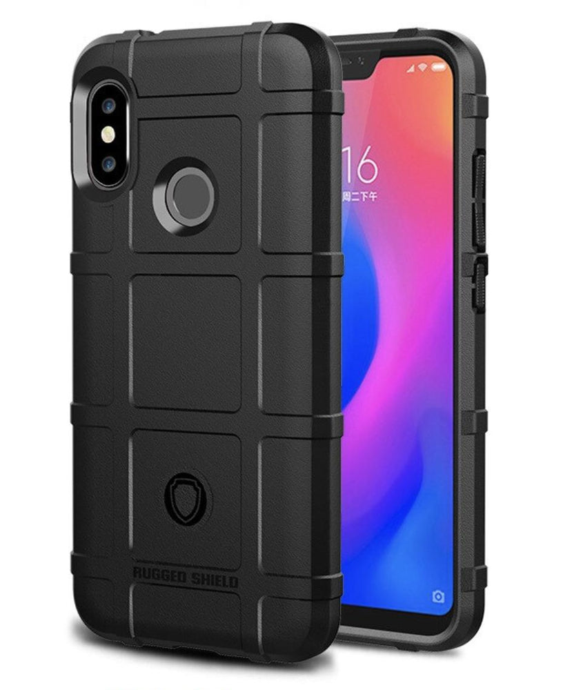 Rugged Cover for Xiaomi Redmi A2 Lite (Black) - Smartphone Shop | Buy Online
