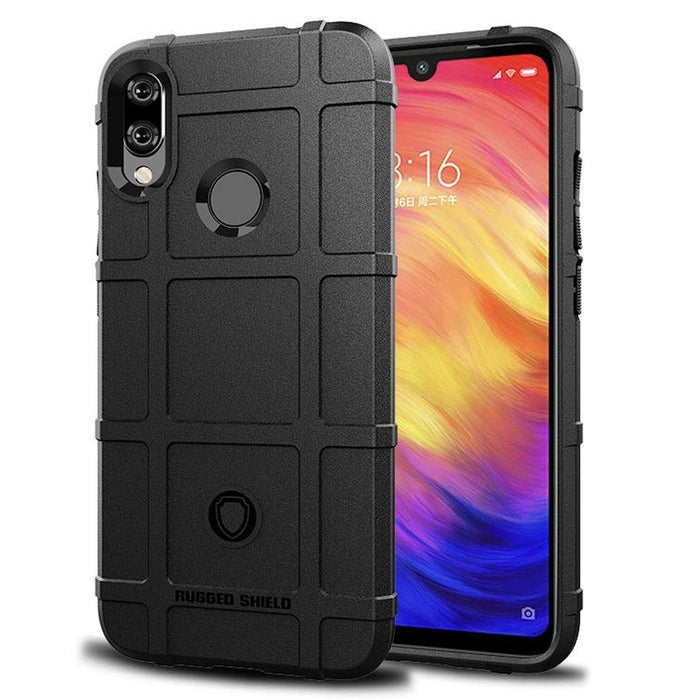 Rugged Cover for Xiaomi Redmi Note 7 (Black) - Smartphone Shop | Buy Online