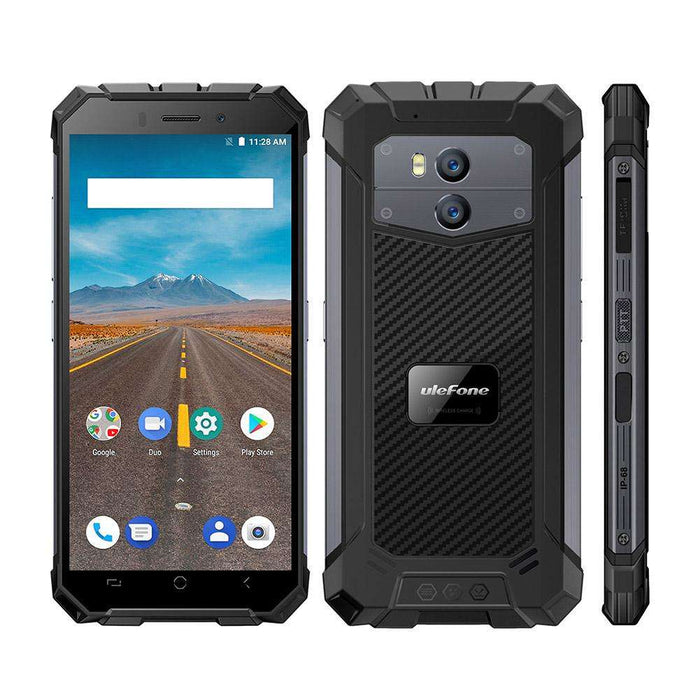 Ulefone Armor X2 Quad Core Android 8.1 4G Phone w/ 2+ 16GB(Dark Gray)