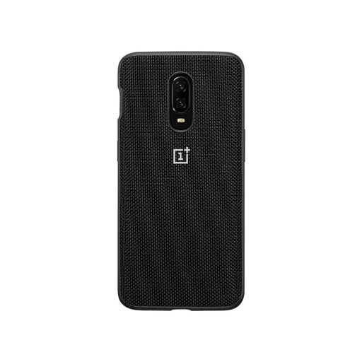 OnePlus 6T Nylon Bumper Case - Black