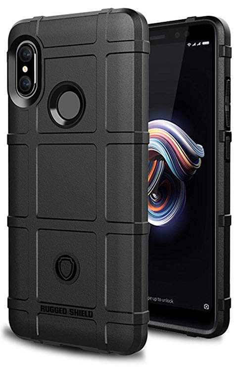 Rugged Cover for Xiaomi Redmi 6 (Black) - Smartphone Shop | Buy Online