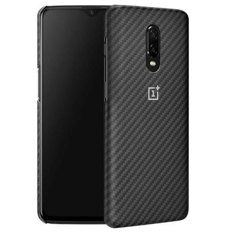 OnePlus 6T Karbon Protective Case - Black