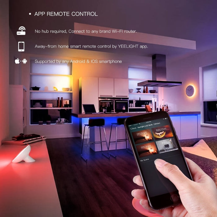 Yeelight Aurora 2M Extendable Smart Light Strip Plus - Smartphone Shop | Buy Online