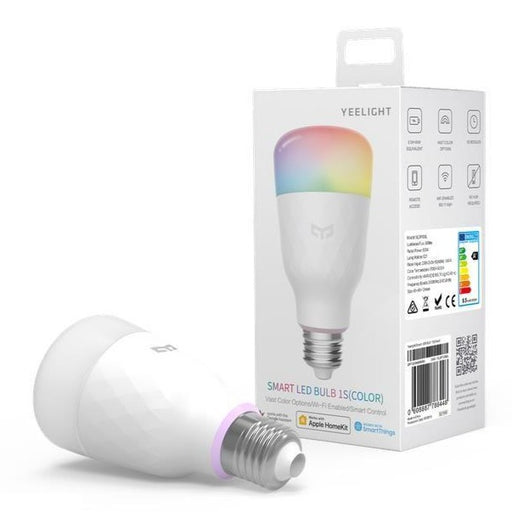 Yeelight LED 800 Lumen Smart Colour RGB E27 Bulb 1S