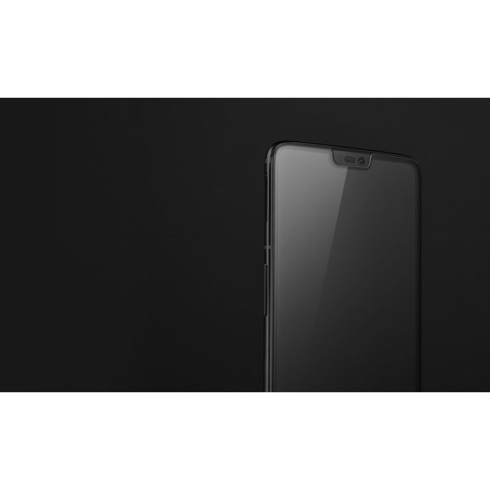 OnePlus 6 3D Tempered Glass Screen Protector (Black) - Smartphone Shop | Buy Online