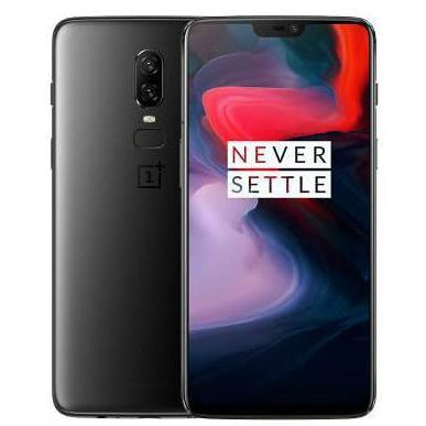 OnePlus 6 LTE Smartphone - Midnight Black 256GB