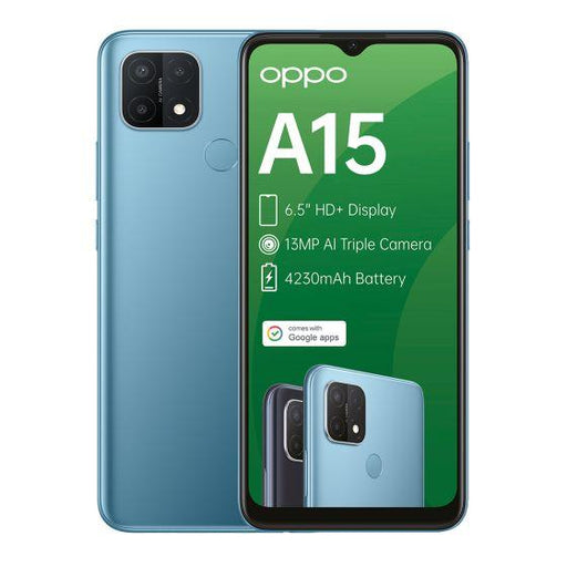 update alt-text with template OPPO A15 Mystery Blue 32GB Dual-SIM Smartphone-OPPO-Smartphone Shop | Buy Online