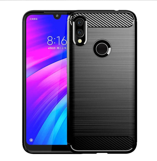 update alt-text with template Protective Cover for Xiaomi Redmi 7 (Black)-SS-Smartphone Shop | Buy Online