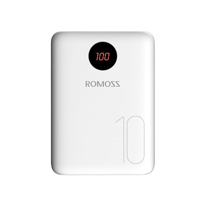 update alt-text with template Romoss OM10 10 000mAh Input_ Type C|Lightning|Micro USB|Output: Dual USB Power Bank - White-Romoss-Smartphone Shop | Buy Online