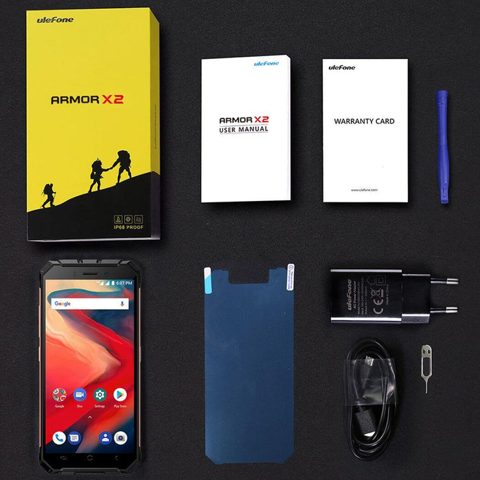 "Ulefone Armor X 5.5"" IP68 4G Rugged Android Smartphone - Smartphone Shop 