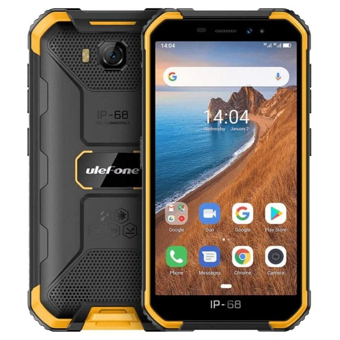 update alt-text with template Ulefone Armor X6 16GB Dual-SIM Rugged IP68 Smartphone-Ulefone-Smartphone Shop | Buy Online