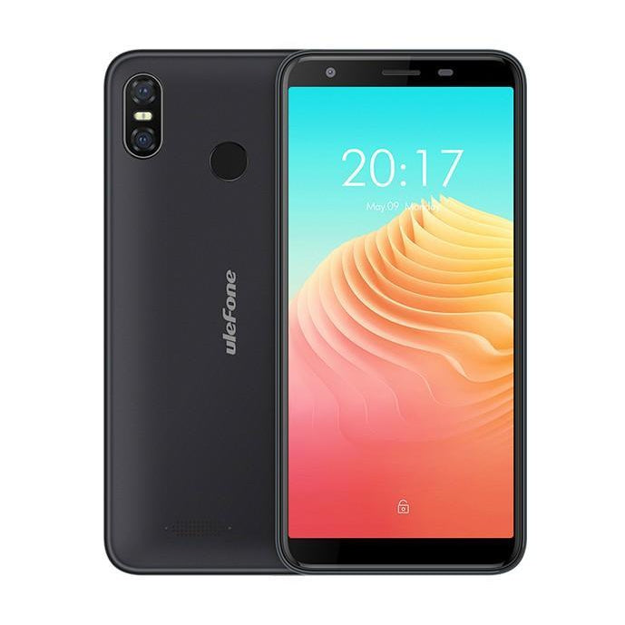 Ulefone S9 Pro 5.5 inch HD+ Mobile Phone Android 8.1 MTK6739 Quad Core 2GB RAM 16GB ROM 13MP+5MP Dual Rear Cameras 4G Smartphone