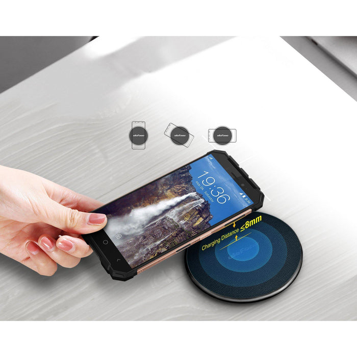 Ulefone UF002 10W 9V Fast Charging Qi Wireless Charger