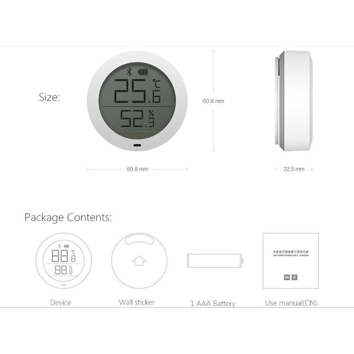 Xiaomi Bluetooth Temperature & Humidity Sensor with LCD