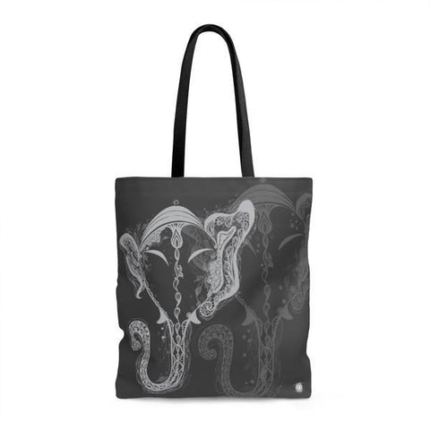 GANESH Black Tote Bag