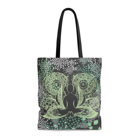 BUTTERFLY Polka Dot Tote Bag