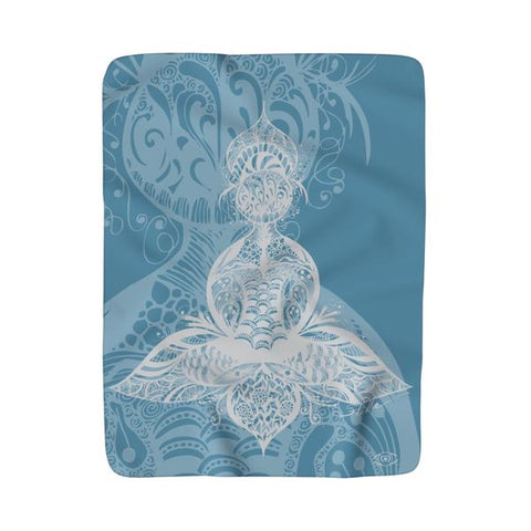 LOTUS Sherpa Fleece Blanket