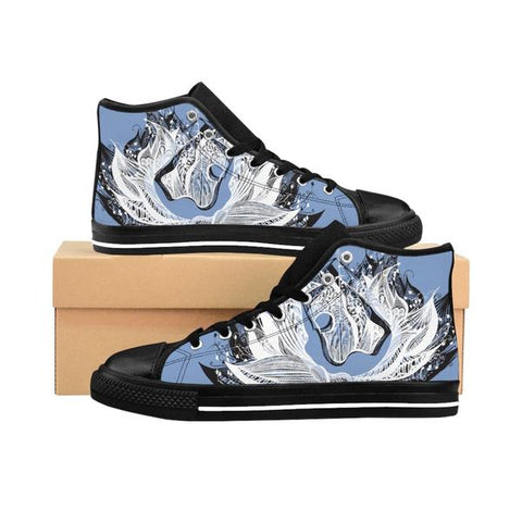 BOW Women's High-Top Sneakers