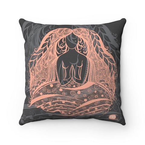 NAMASTE Square Pillow Case