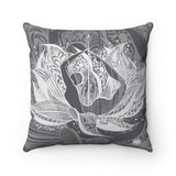 BOW Square Pillow Case