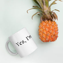 Load image into Gallery viewer, 'Yes, I'm Positive' Mug