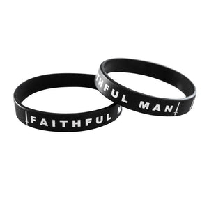 FAITHFUL MAN Wristband