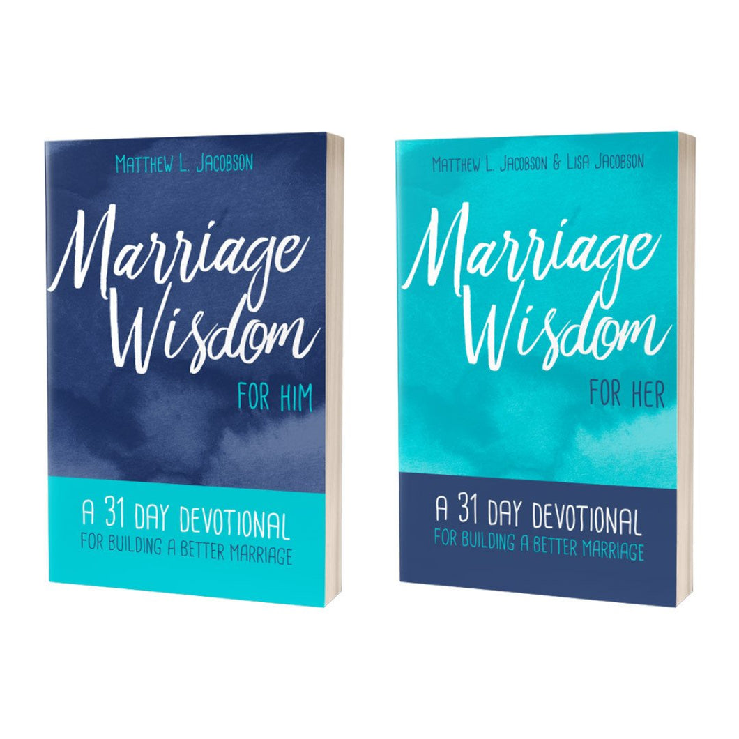 Wisdom For Marriage (Book Bundle)