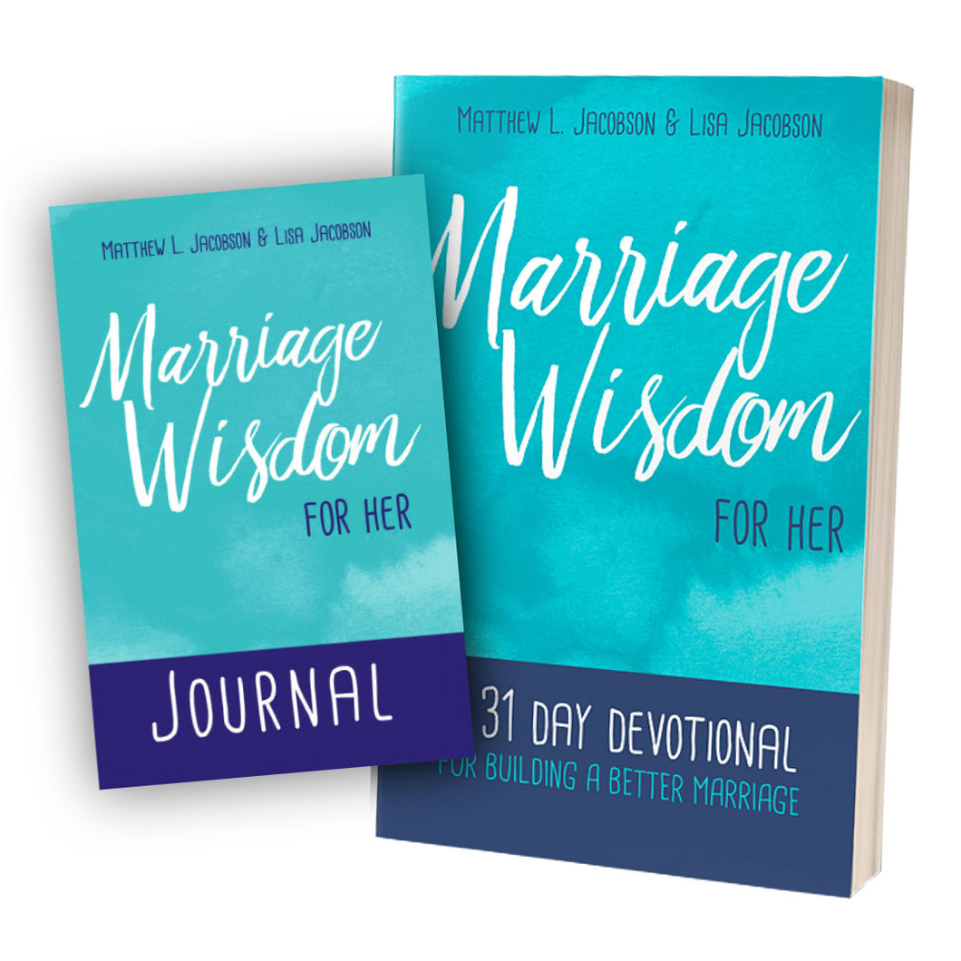 Wisdom For Marriage for Her Bundle (Book & Journal PDF Download)