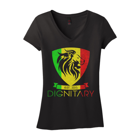 Ladies' Rasta V-Neck T-Shirt