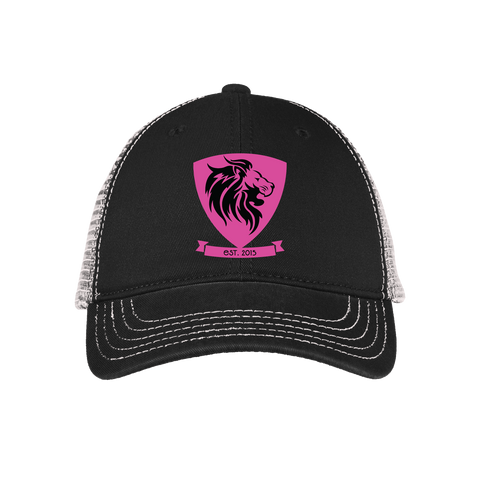 Ladies' Original Black/White Trucker Hat