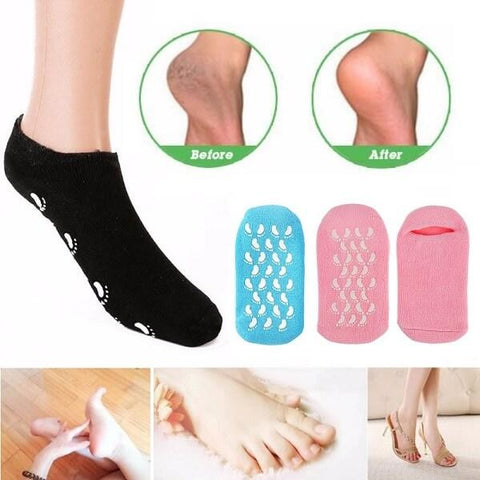 Calcetines gel de spa (2 pares)