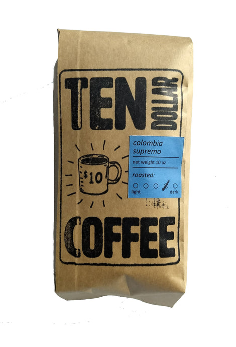 Colombia Supremo: 10 oz Bag