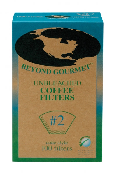 Beyond Gourmet Unbleached Coffee Filter #2