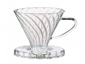 #2 Borosilicate Glass Pour Over Coffee Filter Cone