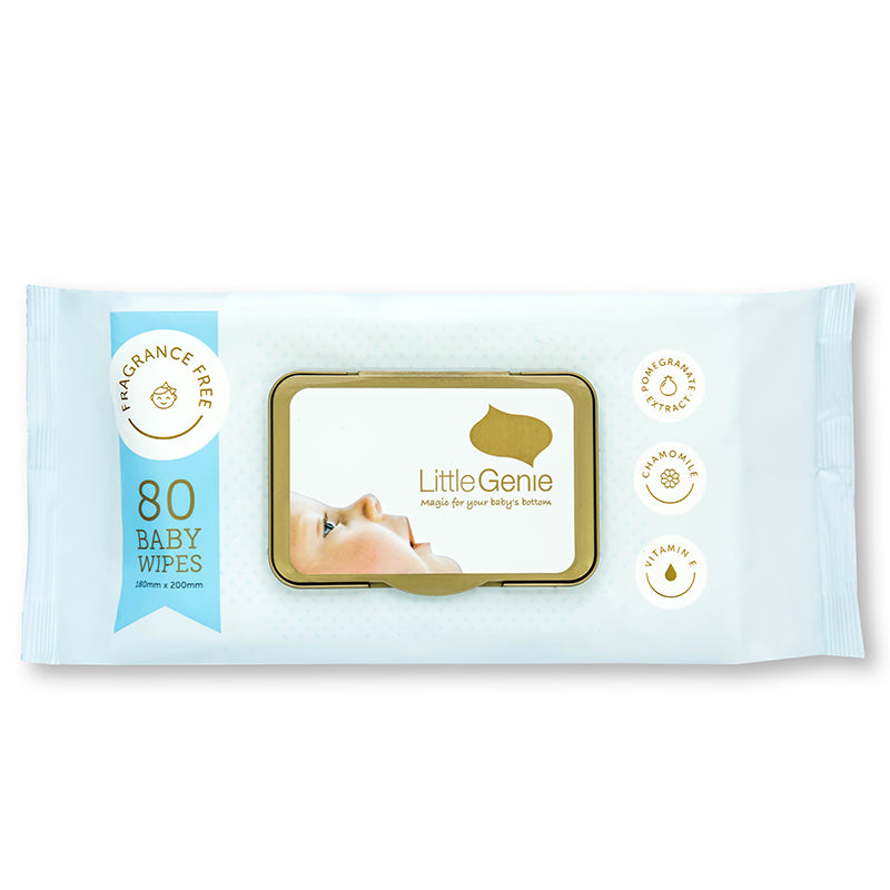 Fragrance Free Wipes - Carton of 6 Packs (80 wipes per pack)