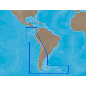 C-Map Max Sa-M500 - Costa Rica-Chile-Falklands - C-Card [Sa-M500C-Card] - Cartography