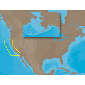 C-Map Max Na-M620 - San Diego Ca-Cape Blanco Or - Sd Card [Na-M620Sdcard] - Cartography
