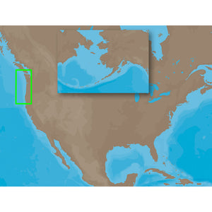 C-Map Max Na-M621 - Cape Blanco Or-Puget Sound - Sd Card [Na-M621Sdcard] - Cartography