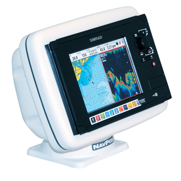 Navpod Pp4808 Powerpod Precut F-Simrad Nss8 [Pp4808] - Boat Outfitting