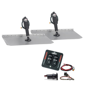 Lenco 12 X 30 Standard Trim Tab Kit W-Led Indicator Switch Kit 12V [Tt12X30I] - Boat Outfitting
