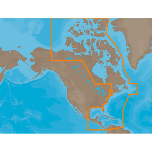 C-Map Max Na-M033 - Atl Coast Gulf & Caribbean - Sd Card [Na-M033Sdcard] - Cartography