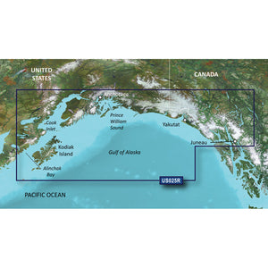 Garmin Bluechart G2 Vision Hd - Vus025R - Anchorage - Juneau - Microsd-Sd [010-C0726-00] - Cartography