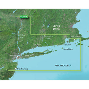 Garmin Bluechart G2 Vision Hd - Vus004R - New York - Microsd-Sd [010-C0705-00] - Cartography