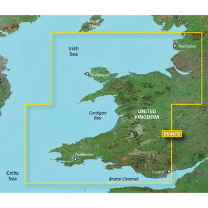 Garmin Bluechart G2 Vision Hd - Veu467S - Blackpool To Cardiff - Microsd-Sd [010-C0811-00] - Cartography