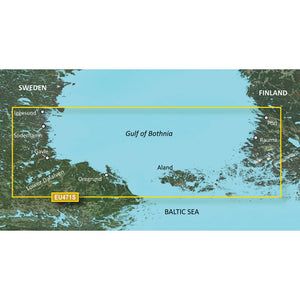 Garmin Bluechart G2 Vision Hd - Veu471S - Gulf Of Bothnia - Microsd-Sd [010-C0815-00] - Cartography