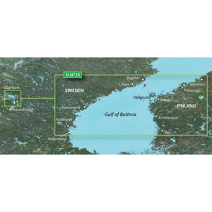Garmin Bluechart G2 Vision Hd - Veu472S - Gulf Of Bothnia Center - Microsd-Sd [010-C0816-00] - Cartography
