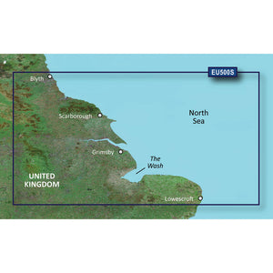 Garmin Bluechart G2 Vision Hd - Veu500S - Blyth To Lowestoft - Microsd-Sd [010-C0844-00] - Cartography