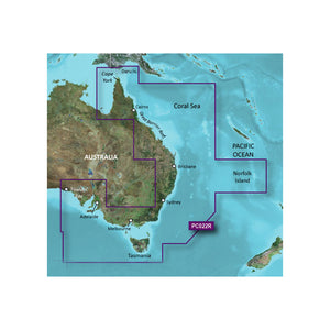 Garmin Bluechart G2 Vision Hd - Vpc022R - East Coast Australia - Microsd-Sd [010-C0756-00] - Cartography